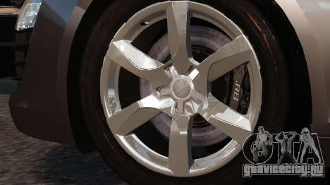 Audi R8 v1.1 для GTA 4 вид справа