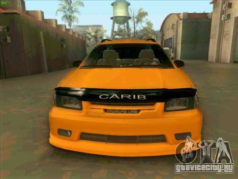 Toyota Carib для GTA San Andreas вид сзади