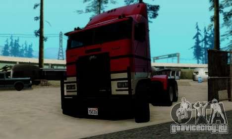 Hauler GTA V для GTA San Andreas вид сзади слева