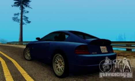 Fusilade GTA V для GTA San Andreas вид справа