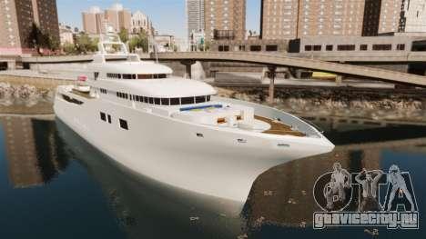Полноценная яхта для GTA 4