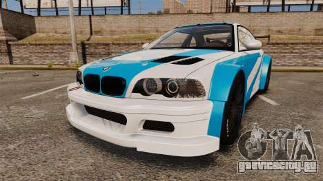 BMW M3 GTR 2012 Most Wanted v1.1 для GTA 4