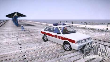 Daewoo FSO Polonez Caro Fire для GTA 4 вид слева