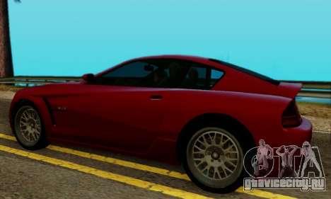 Fusilade GTA V для GTA San Andreas вид сзади слева