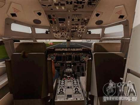 Boeing 737-800 Jet2 для GTA San Andreas вид сзади