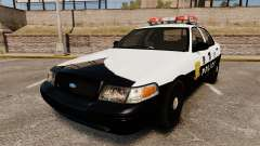 Ford Crown Victoria Japanese Police [ELS] для GTA 4