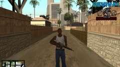 S-HUD-Revival-DM By Mario_Nostra для GTA San Andreas
