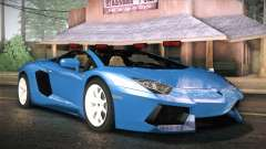 Lamborghini Aventador Roadster для GTA San Andreas