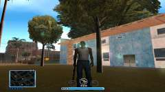 C-HUD by Andr1k для GTA San Andreas