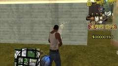 C-HUD LSVG для GTA San Andreas