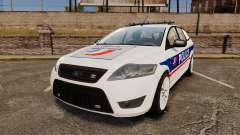 Ford Mondeo IV Wagon Police Nationale [ELS] для GTA 4