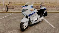 BMW R1150RT Police nationale [ELS] v2.0 для GTA 4