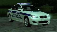 BMW M5 E60 Police SF для GTA San Andreas