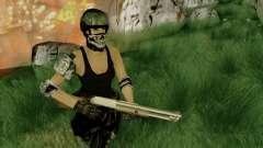 SWAT GIRL для GTA San Andreas