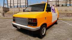 Brute Pony FedEx Express для GTA 4