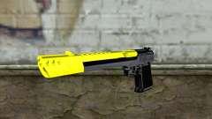 Yellow Desert Eagle для GTA San Andreas