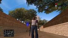 C-HUD Lite для GTA San Andreas