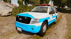 Ford Expedition Japanese Police SSV v2.5F [ELS] для GTA 4