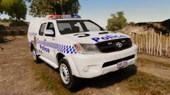 Toyota Hilux Police Western Australia для GTA 4