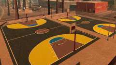 Новая баскетбольная площадка