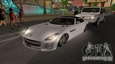 Benefactor Surano GTA V для GTA San Andreas