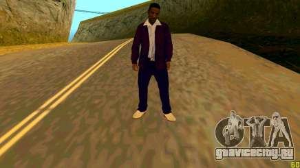 Новая текстура Jizzy HQ для GTA San Andreas