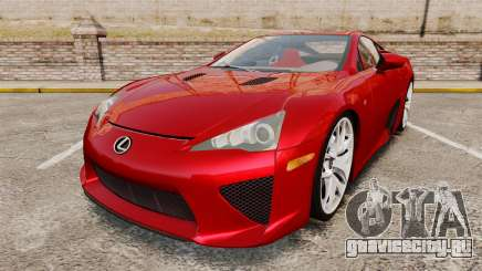 Lexus LF-A 2010 v2.0 [EPM] Final Version для GTA 4