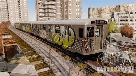 Новые граффити для метровагоннов для GTA 4