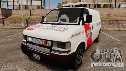 Vapid Speedo U.S. Coast Guard для GTA 4