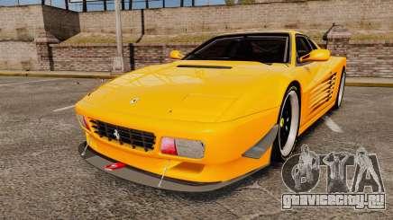 Ferrari Testarossa 512 TR v2.0 для GTA 4