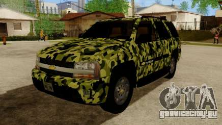 Chevrolet TrailBlazer Army для GTA San Andreas