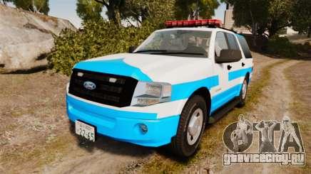 Ford Expedition Japanese Police SSV v2.5F [ELS] для GTA 4