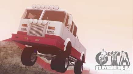 Offroad Firetruck для GTA San Andreas