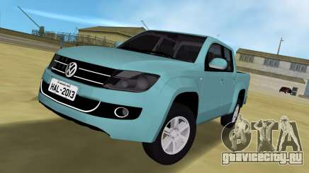 Volkswagen Amarok 2.0 TDi AWD Trendline 2012 для GTA Vice City