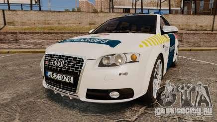 Audi S4 Avant Hungarian Police [ELS] для GTA 4