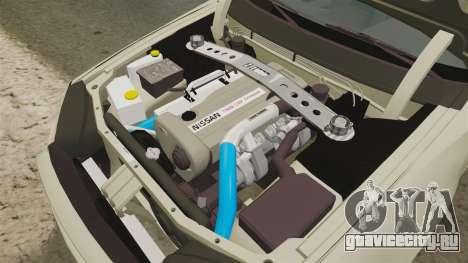 Nissan Skyline R34 Nismo Z-Tune для GTA 4 вид изнутри
