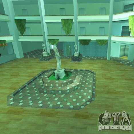 Новый интерьер радиоцентра для GTA San Andreas