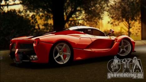 Ferrari LaFerrari 2014 для GTA San Andreas вид слева