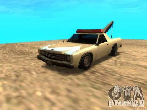 Новый Эвакуатор (Picador) для GTA San Andreas вид слева