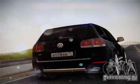 Volkswagen Touareg 2010 для GTA San Andreas вид слева