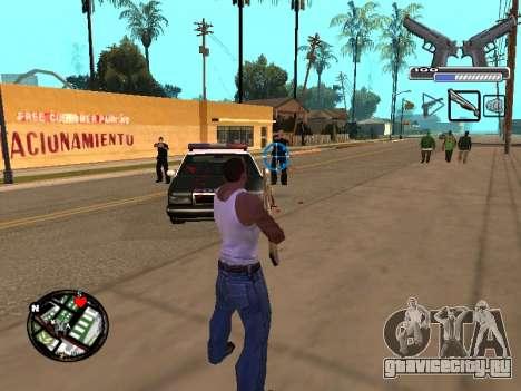 С-HUD by MoLoT для GTA San Andreas третий скриншот