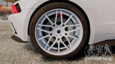 Ford Mustang GT 2013 NFS Edition для GTA 4 вид сзади