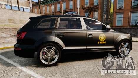 Audi Q7 TEK [ELS] для GTA 4 вид слева