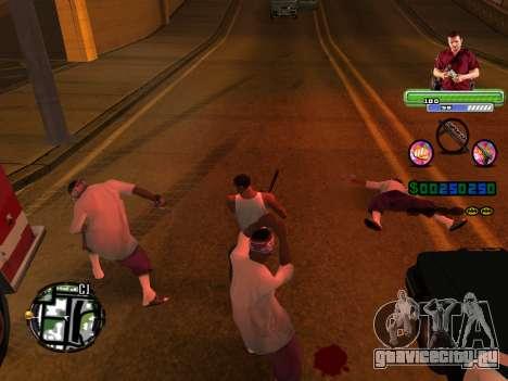 C-HUD Michael (GTA V) для GTA San Andreas