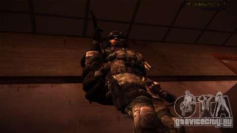 Ranger из Call Of Duty: Ghosts для GTA San Andreas третий скриншот