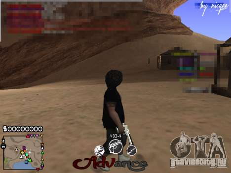 C-HUD Advance для GTA San Andreas
