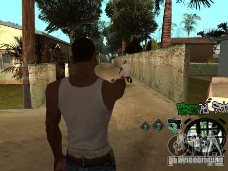 C-HUD Groove Street для GTA San Andreas пятый скриншот