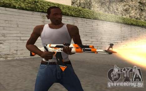 AK-47 для GTA San Andreas четвёртый скриншот