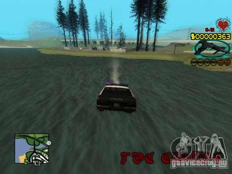 C-HUD Guns для GTA San Andreas шестой скриншот