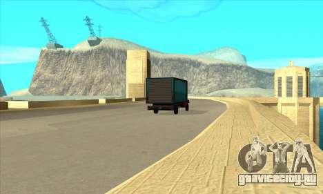 Новая дамба Шермана для GTA San Andreas третий скриншот